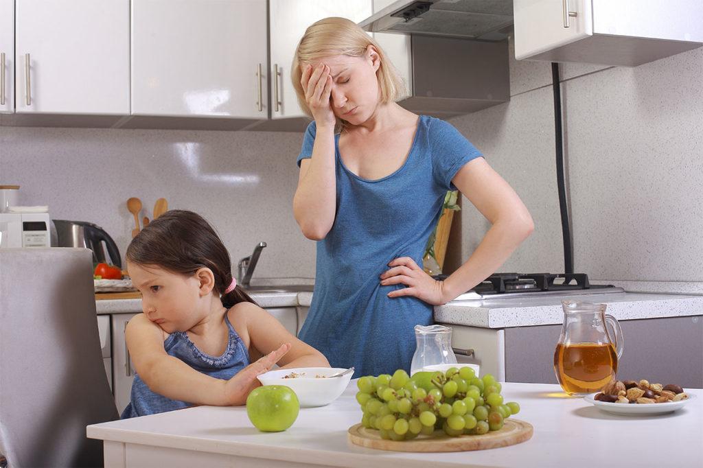 Пищевая избирательность у детей с РАС